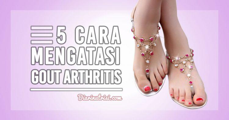 5 Cara Mengatasi Gout Arthritis