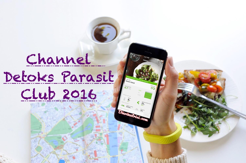 channel detoks parasit