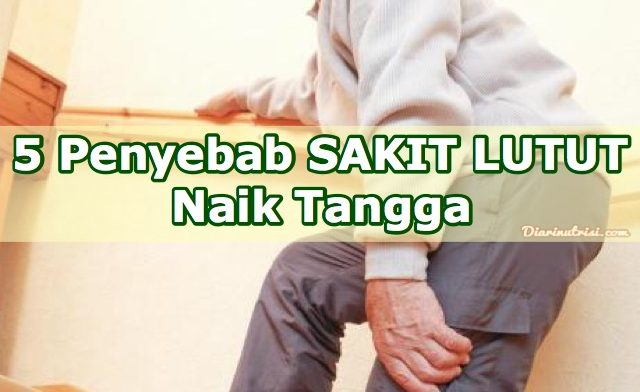 5 Penyebab Sakit Lutut Naik Tangga
