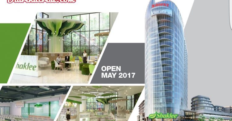 3 Sebab HQ Shaklee di Sunway Geo Tower, Bandar Sunway Sangat Menarik