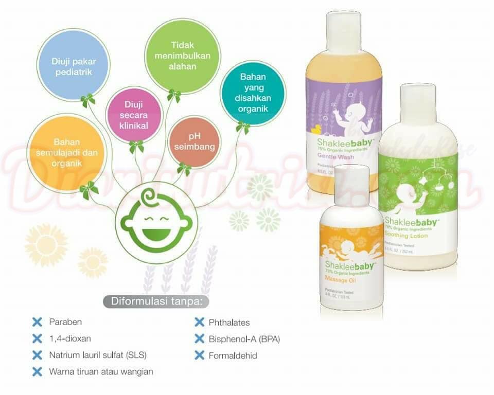 Set mandian baby organik