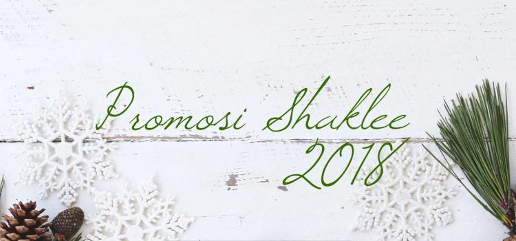 Promosi Shaklee Bulan November 2018