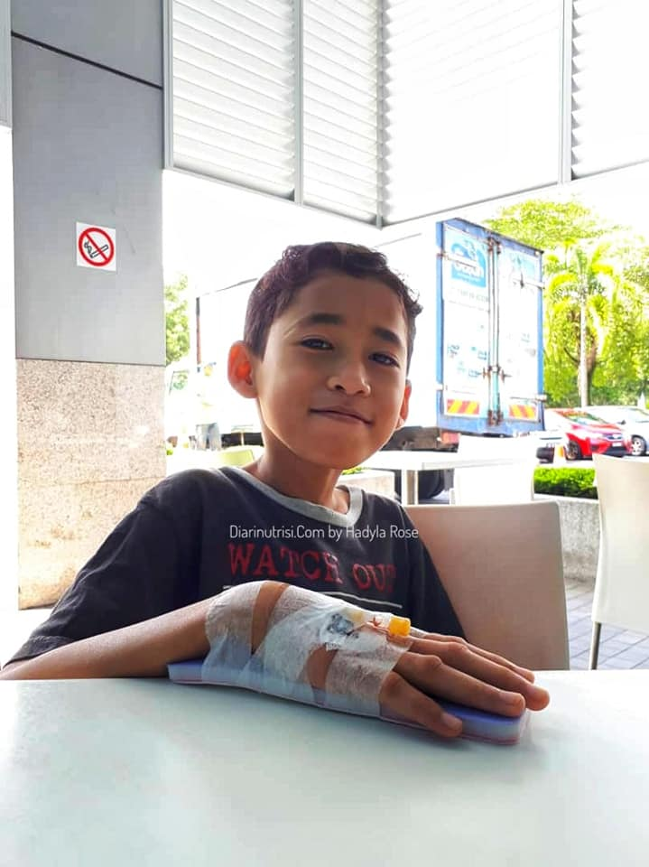pengalaman anak dijangkiti influenza B